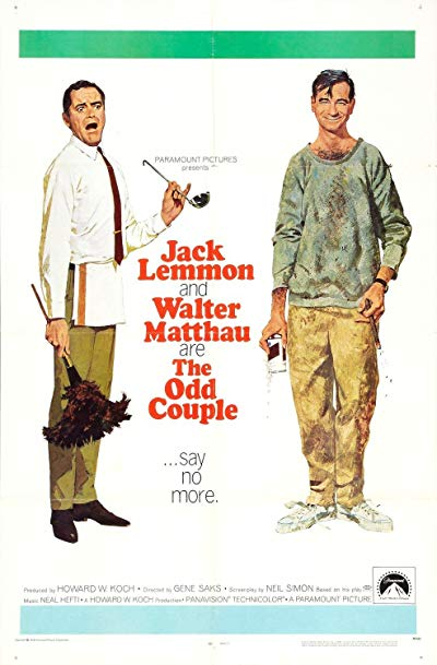 The Odd Couple 1968 BluRay REMUX 1080p AVC DTS-HD MA 5.1 - KRaLiMaRKo