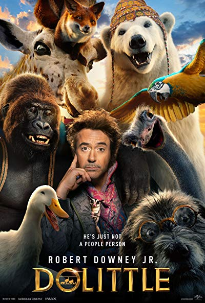 Dolittle 2020 720p BluRay DD5.1 x264-YOL0W