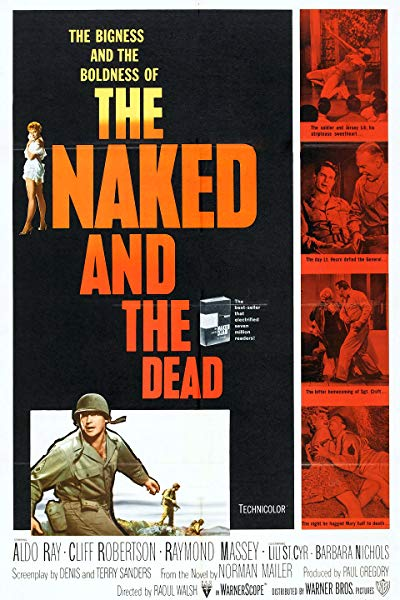 The Naked and the Dead 1958 720p BluRay DTS x264-NODLABS