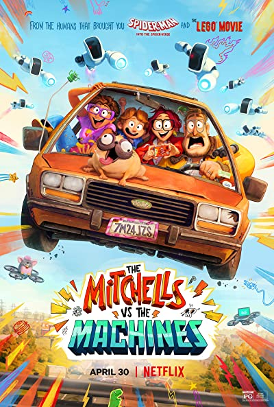 The Mitchells vs The Machines 2021 1080p WEB-DL DDP5.1 H264-RUMOUR