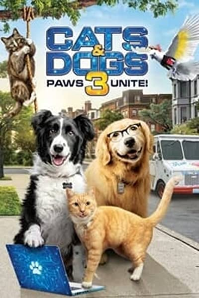 Cats and Dogs 3 Paws Unite 2020 1080p WEB-DL DD5.1 H264-EVO
