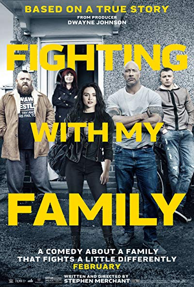 Fighting with My Family 2019 1080p WEB-DL DD5.1 H264-EVO