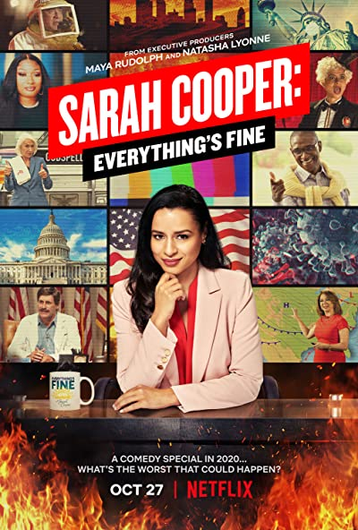 Sarah Cooper Everythings Fine 2020 1080p WEB-DL DDP5.1 H264-STOUT