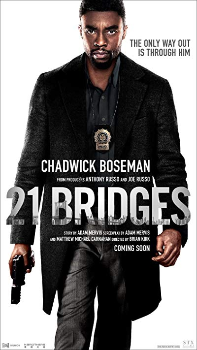 21 Bridges 2019 BluRay REMUX 1080p AVC DTS-HD MA 5.1-EPSiLON