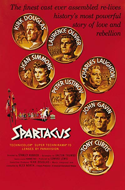 Spartacus 1960 50th Anniversary Edition BluRay REMUX 1080p AVC DTS-HD MA 5.1 - KRaLiMaRKo