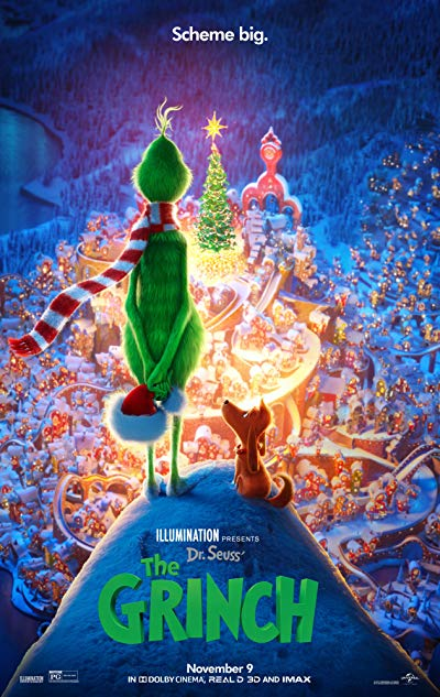 The Grinch 2018 BluRay REMUX 1080p AVC Atmos-EPSiLON
