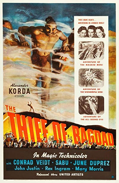 The Thief of Bagdad 1940 1080p BluRay DTS x264-FGT