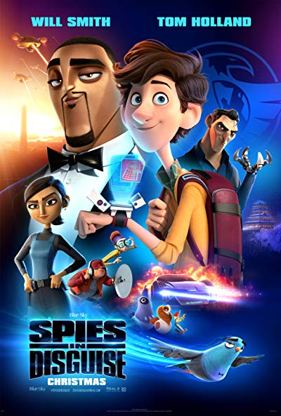 Spies in Disguise 2019 2160p UHD BluRay TrueHD 7.1 x265-WhiteRhino