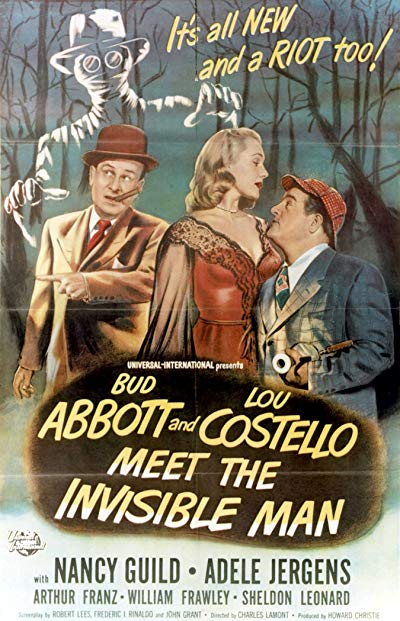 Bud Abbott and Lou Costello Meet the Invisible Man 1951 BluRay REMUX 1080p AVC DTS-HD MA 2.0-BluHD