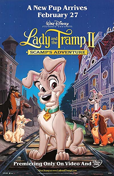 Lady And The Tramp II Scamps Adventure 2001 1080p BluRay DTS x264-CiNEFiLE