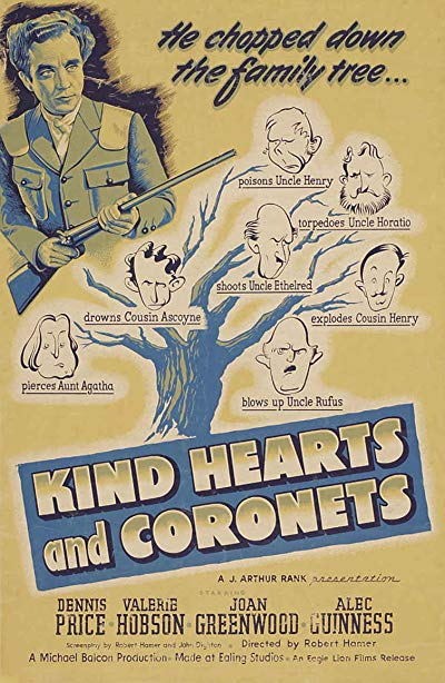 Kind Hearts and Coronets 1949 REMASTERED 1080p BluRay FLAC x264-AMIABLE