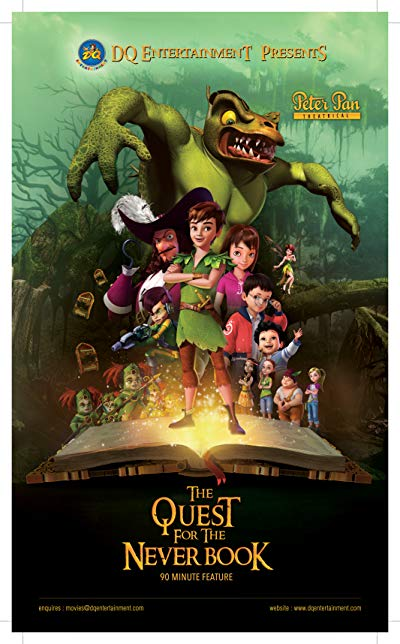 Peter Pan The Quest for the Never Book 2018 1080p WEB-DL DD5.1 H264-EVO