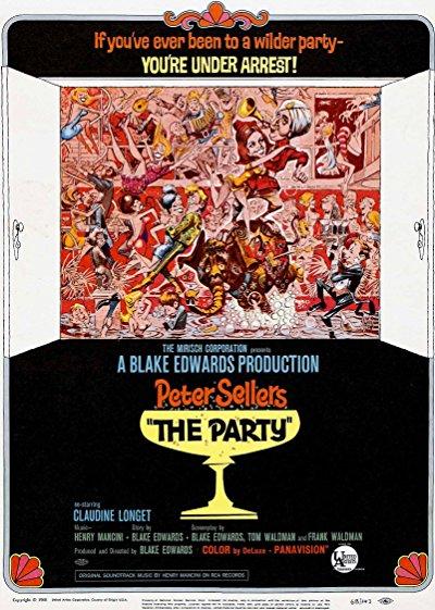 The Party 1968 EUREKA BluRay REMUX 1080p AVC DTS HD 5.1 - GHOSTFACE