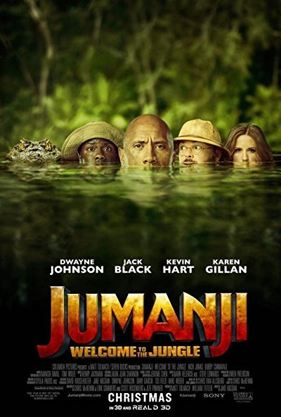 Jumanji Welcome to the Jungle 2017 1080p BluRay DTS x264-SPARKS