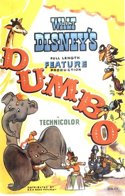 Dumbo 1941 USA 70th Anniversary Edition BluRay REMUX 1080p AVC DTS-HD MA - BluDragon