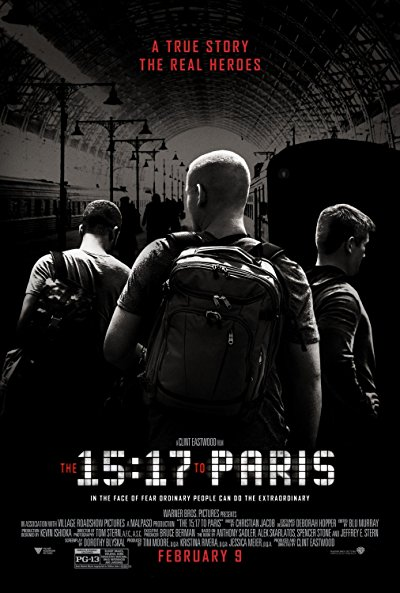 The 15 17 to Paris 2018 1080p BluRay DTS x264-DON