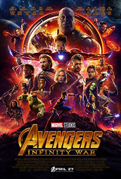 Avengers Infinity War 2018 1080p BluRay DTS-HD MA 7.1 x264-HDChina