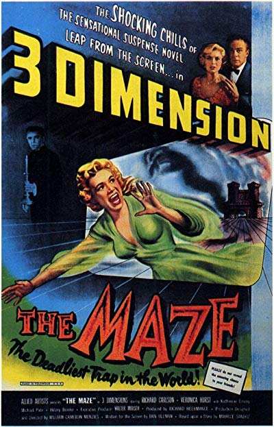 The Maze 1953 1080p BluRay DTS x264-SADPANDA