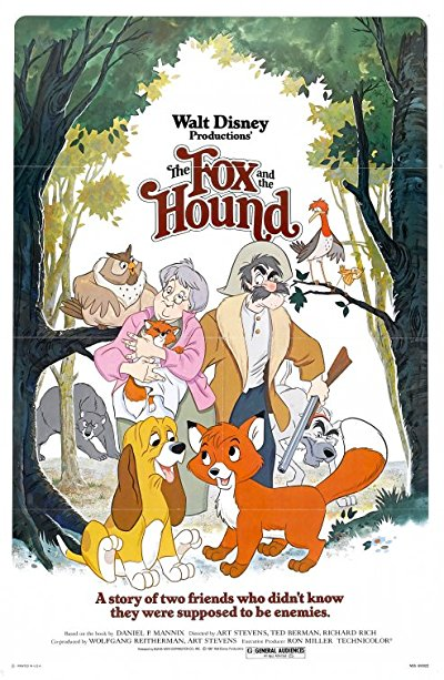The Fox and the Hound 1981 1080p USA 30th Anniversary Edition BluRay HEVC DTS-HD MA 5.1 - BluDragon