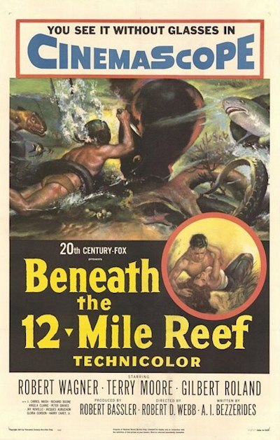 Beneath the 12-Mile Reef 1953 720p BluRay DD5.1x264-SbR