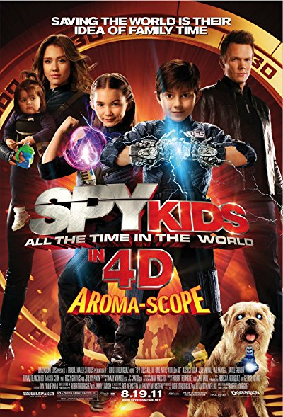 Spy Kids 4 All the Time in the World 2011 BluRay REMUX 1080p AVC DTS-HD MA 5.1-FraMeSToR