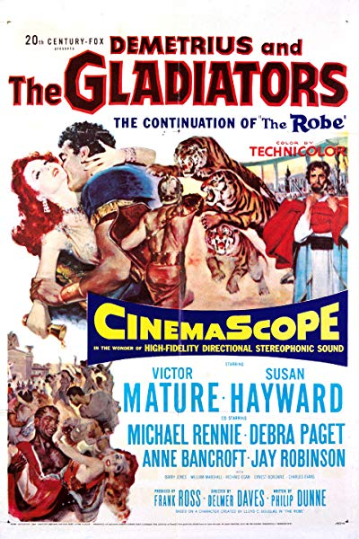 Demetrius and the Gladiators 1954 BluRay REMUX 1080p AVC DTS-HD MA 4.0-SiCaRio