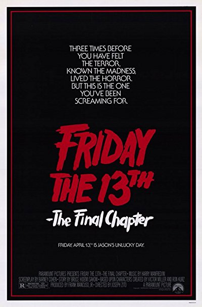 Friday the 13th The Final Chapter BluRay REMUX 1080p AVC DTS-HD MA 5.1-FraMeSToR