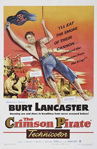 The Crimson Pirate 1952 HDTV 720p