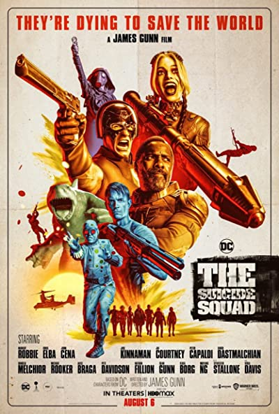 The Suicide Squad 2021 1080p BluRay DDP7.1 x264-iFT