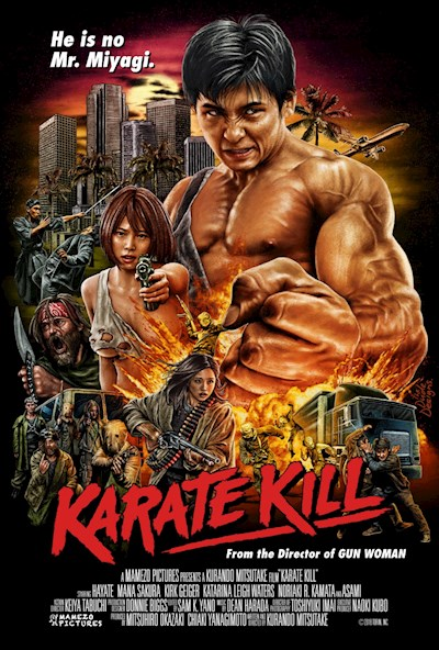 Karate Kill 2016 720p BluRay DTS x264-AKME