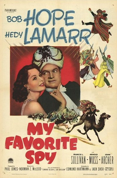 My Favorite Spy 1951 720p BluRay FLAC x264-SADPANDA