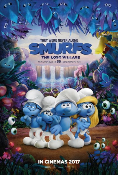 Smurfs The Lost Village 3D 2017 1080p BluRay Half-SBS DTS-HD MA 5.1-EDeN