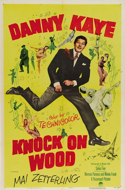 Knock On Wood 1954 720p BluRay DTS x264-SiNNERS