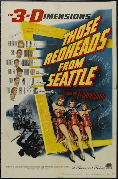 Those Redheads from Seattle 1953 BluRay 3D REMUX 1080p AVC DTS-HD MA 3.0 - KRaLiMaRKo