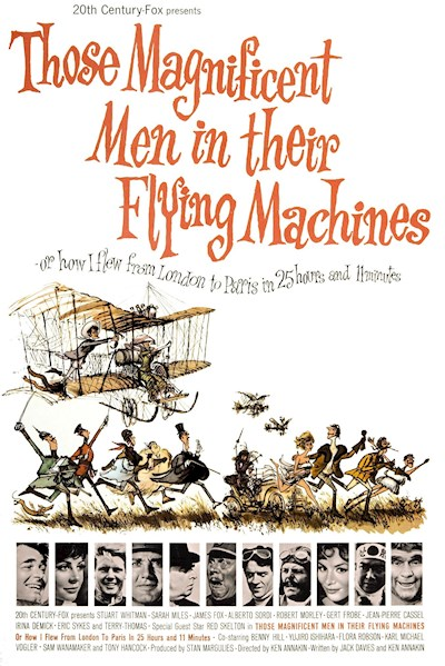 Those Magnificent Men in Their Flying Machines 1965 INT 720p BluRay DTS x264-PSYCHD
