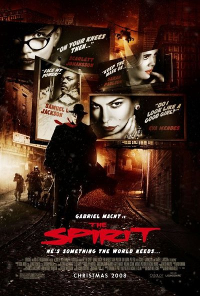 The Spirit 2008 FS 720p BluRay DTS x264-FLAME