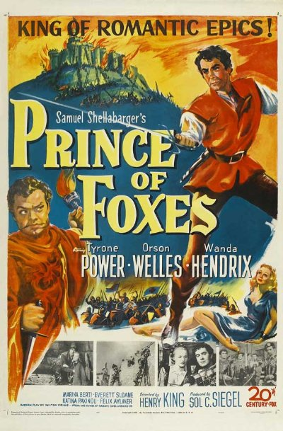 Prince of Foxes 1949 720p BluRay DTS x264-SiNNERS