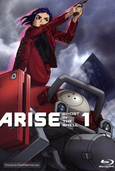 Ghost in the Shell Arise - Border 1 Ghost Pain 2013 1080p JPN BluRay REMUX AVC DTS-MA - BluDragon