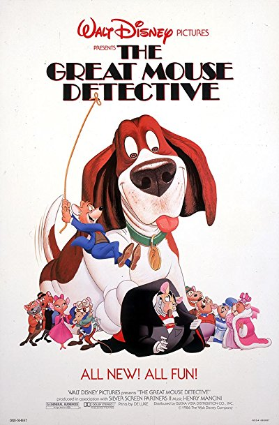 The Great Mouse Detective 1986 BluRay REMUX 1080p AVC DTS-HD MA - BluDragon