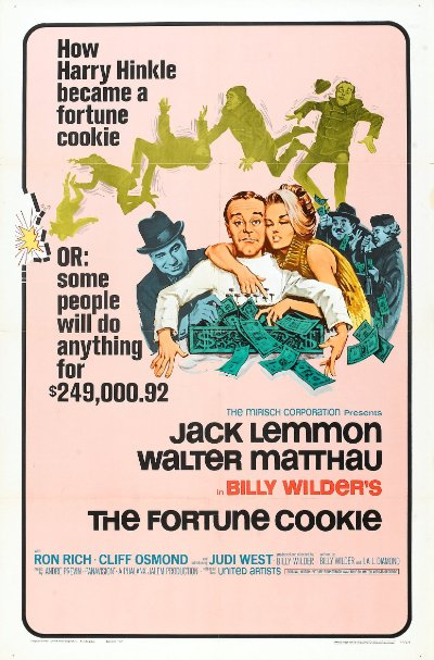 The Fortune Cookie 1966 720p BluRay DTS x264-AMIABLE