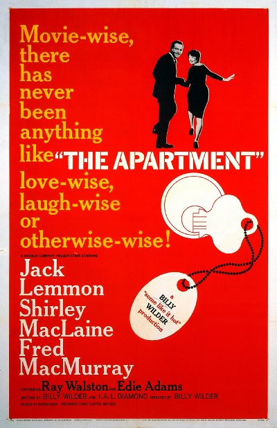 The Apartment 1960 REMASTERED 720p BluRay DTS x264-AMIABLE