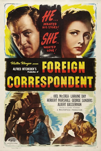 Foreign Correspondent 1940 Criterion Collection BluRay REMUX 1080p AVC DTS-HD MA 1.0 - KRaLiMaRKo