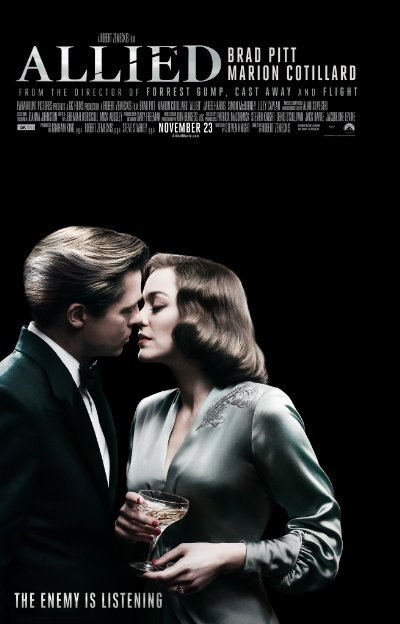 Allied 2016 UHD BluRay REMUX 2160p DTS-HD MA 5.1 HEVC-SiCaRio