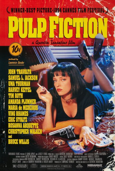 Pulp Fiction 1994 Hybrid BluRay REMUX 1080p AVC DTS-HD MA 5.1-HiFi
