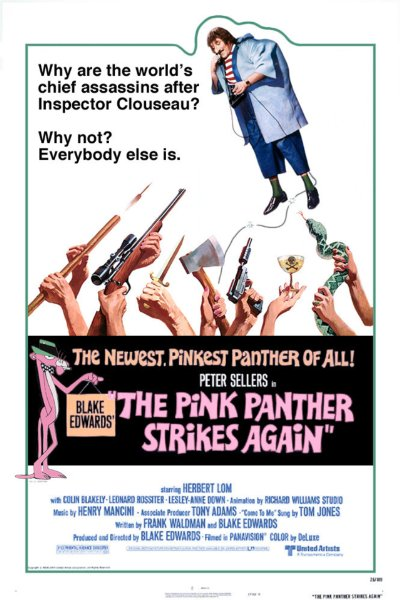 The Pink Panther Strikes Again 1976 1080p BluRay DTS x264-AMIABLE
