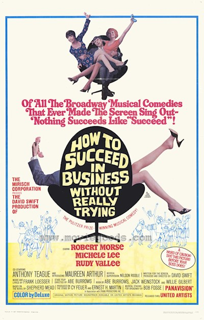 How to Succeed in Business Without Really Trying 1967 1080p BluRay DTS x264-SADPANDA
