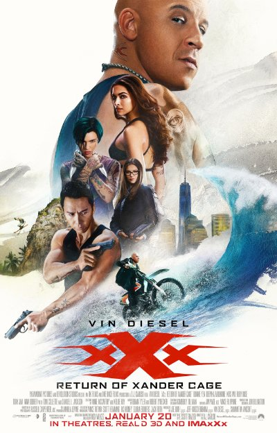 xXx Return of Xander Cage 2017 720p BluRay DD5.1 x264-HDChina