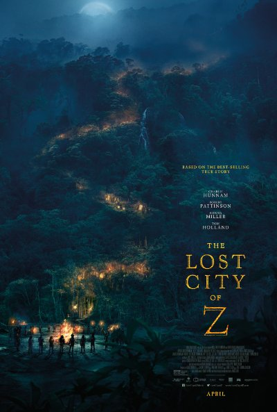 The Lost City of Z 2016 720p BluRay DTS x264-GECKOS