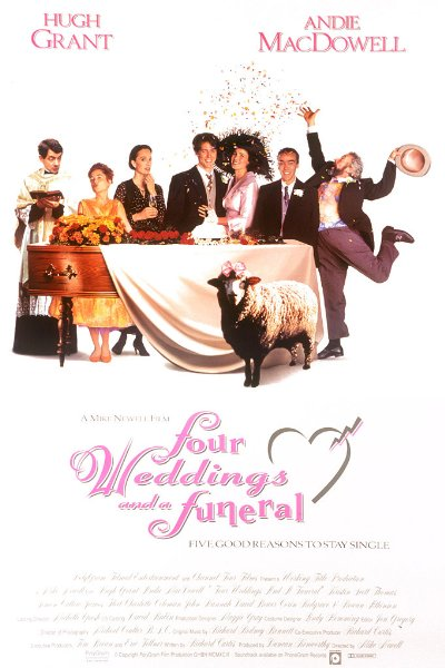 Four Weddings And A Funeral 1994 1080p BluRay DTS x264-Japhson