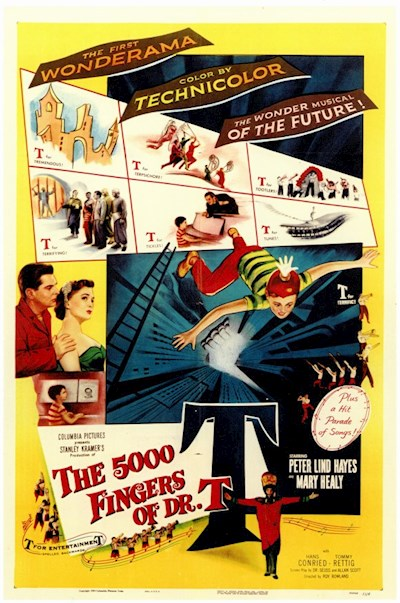 The 5000 Fingers of Dr T 1953 1080p BluRay DD1.0 x264-SPOOKS